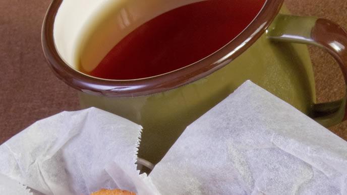 家庭訪問で出されるお茶と菓子