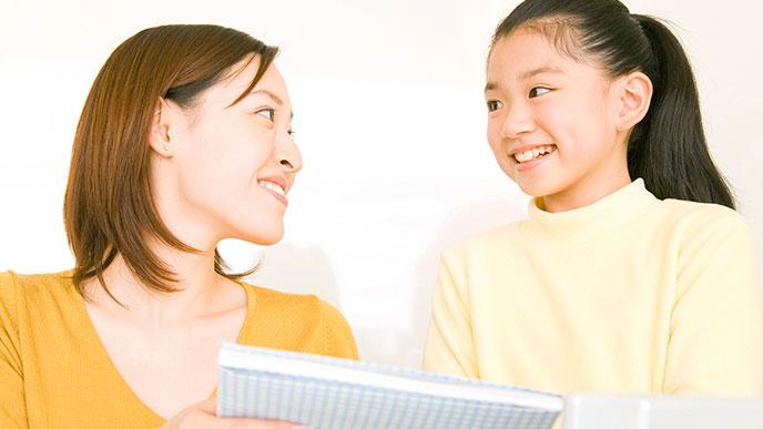 助言する親