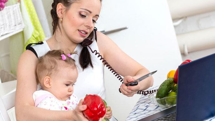 育児と仕事と家事の両立