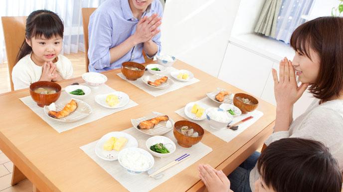嫌いな食べ物は家族みんなで食べましょう