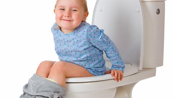 トイレができるようになったこども