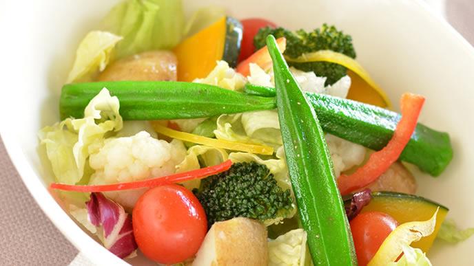 栄養を閉じ込めた温野菜