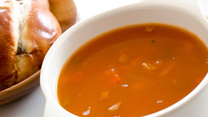 トマトが好きになる美味しいスープ