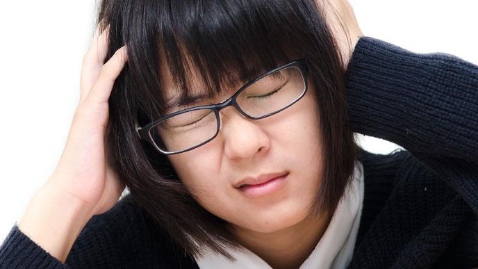 睡眠不足で頭がまわらない