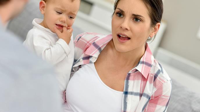 子供の苦情に猛抗議するママ