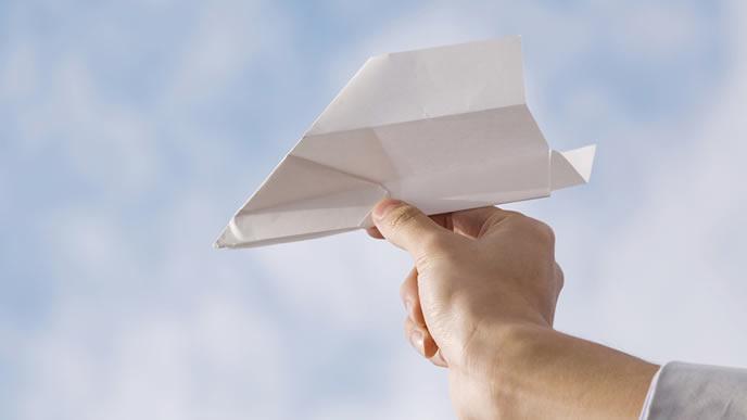 未来へと繋がる飛行機