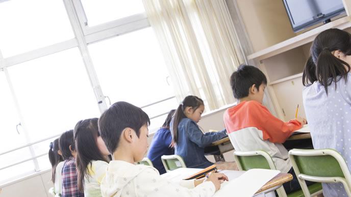 負けず嫌いを勉強に発揮する子供