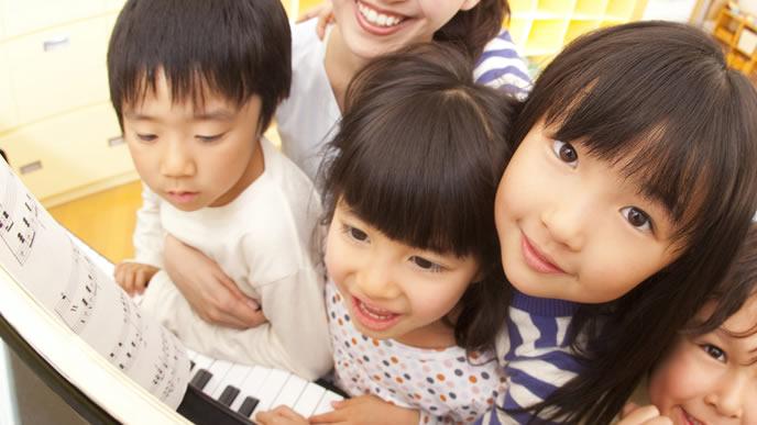 子供達を預かる子育て支援センターの様子