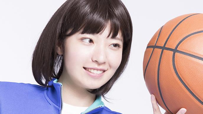 バスケ部のキャプテンを務める女の子
