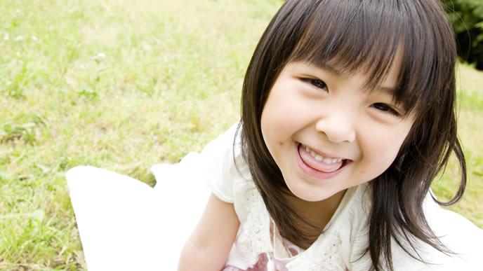 今年幼稚園に入学する女の子
