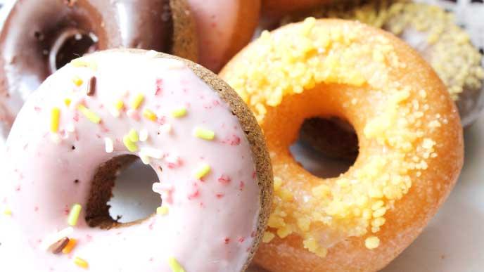 可愛いドーナッツ