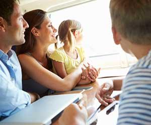 家族で電車旅行