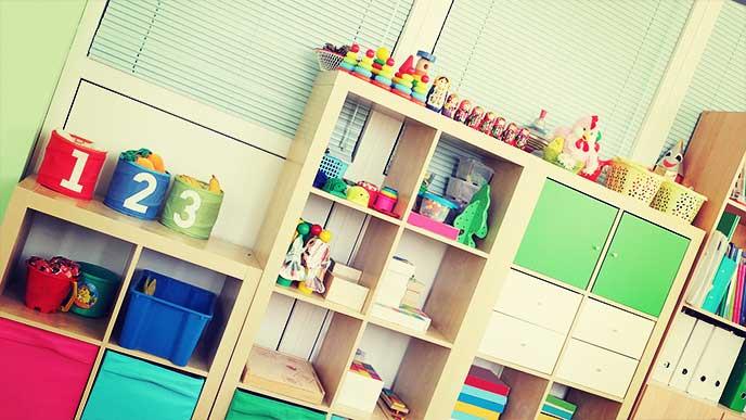 子ども部屋の棚
