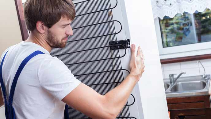 冷蔵庫を動かす便利屋