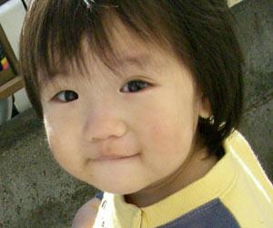 3歳児の笑顔