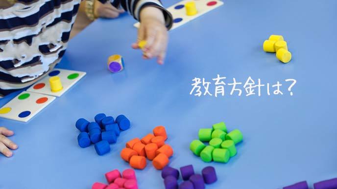 モンテッソーリ教育を行う幼稚園