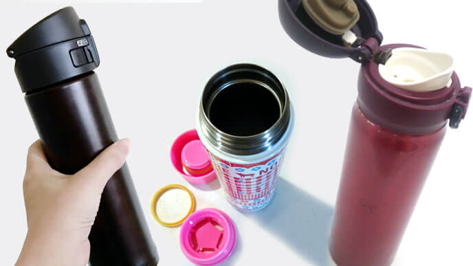 3種類の水筒