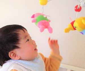 赤ちゃん向けのおもちゃ