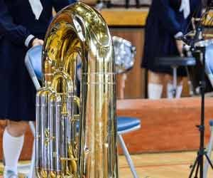 吹奏楽部の練習