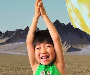 子供の空想世界