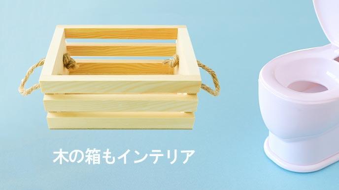 白木の木の箱