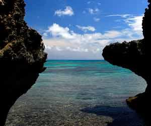 沖縄県の海