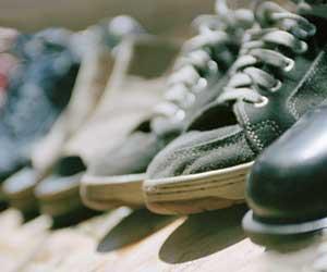 玄関に並ぶ靴