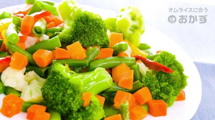 温野菜盛り合わせ
