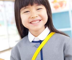 幼稚園に入園した子供