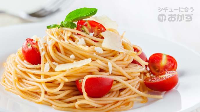 トマトのスパゲッティ