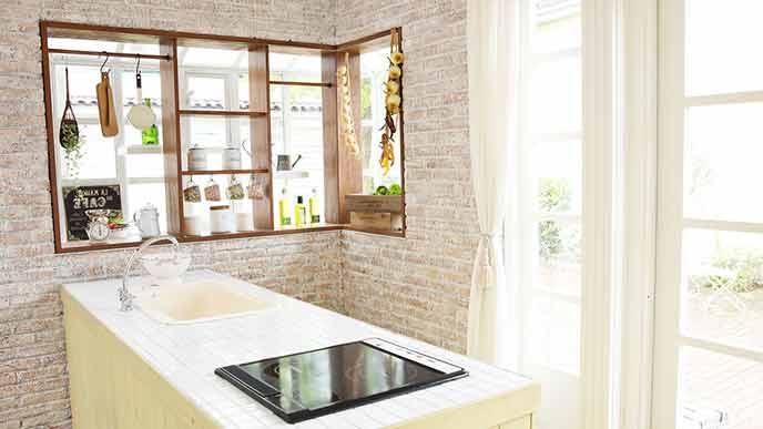ナチュラルデザインの台所