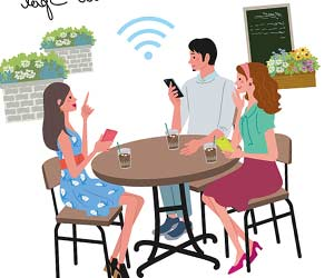 Wi-Fiスポットを利用
