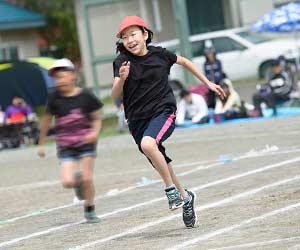 子供の運動会の写真