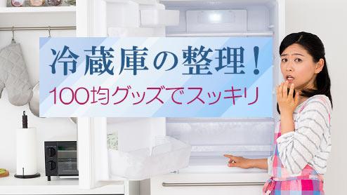 冷蔵庫の整理術!100均グッズでスッキリ使いやすくするコツ