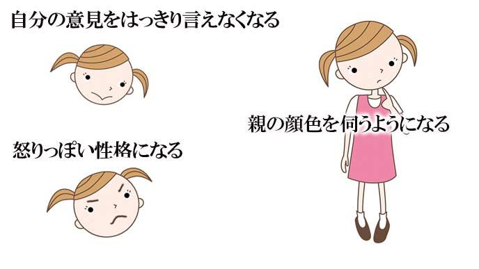 子供を叱りすぎると子供に影響が出る